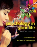 EBK PSYCHOLOGY IN YOUR LIFE