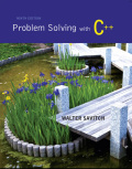 EBK PROBLEM SOLVING WITH C++ - 9th Edition - by SAVITCH - ISBN 9780133834505