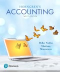 EBK HORNGREN'S ACCOUNTING - 12th Edition - by MILLER-NOBLES - ISBN 9780134487212