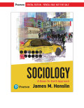 EBK SOCIOLOGY:DOWN-TO-EARTH APPROACH - 14th Edition - by Henslin - ISBN 9780134740027
