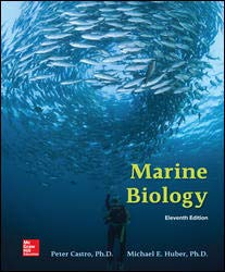 MARINE BIOLOGY - 11th Edition - by CASTRO - ISBN 9781259880032