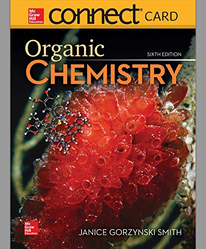 Connect Access Card 2-year For Organic Chemistry - 6th Edition - by Janice Gorzynski Smith Dr. - ISBN 9781260475593